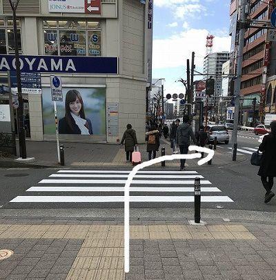銀座カラー 横浜西口 アクセス 行き方