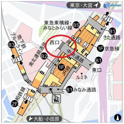 ABCクリニック 横浜 アクセス 行き方