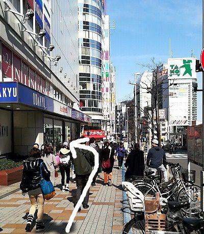 フレイアクリニック 新宿 アクセス 行き方