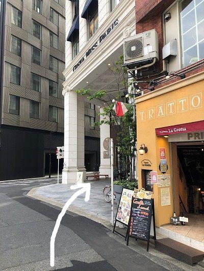 ダンディハウス PERSONAL GYM 銀座店 アクセス 行き方