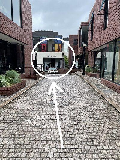 メンズラクシア 表参道 アクセス 行き方