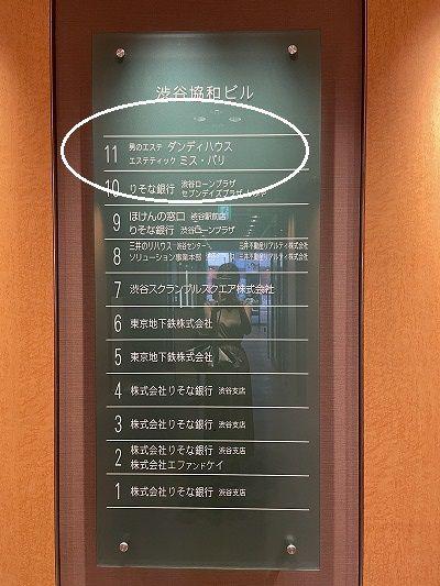 ミスパリ 渋谷 アクセス 行き方