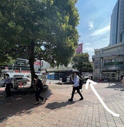 ミレイビス 渋谷 アクセス 行き方