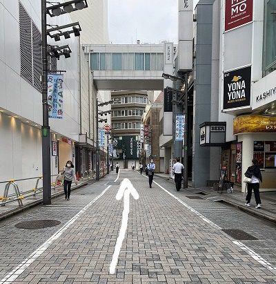 レイビス 新宿店 アクセス 行き方