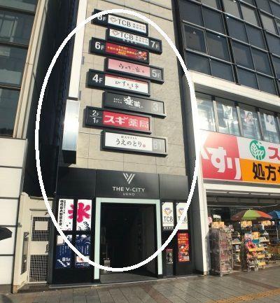 TCB 上野 アクセス 行き方